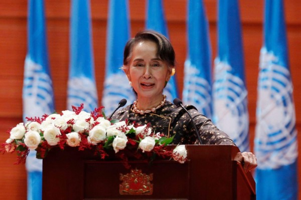 無視洛興雅種族清洗 翁山蘇姬遭撤回人權獎