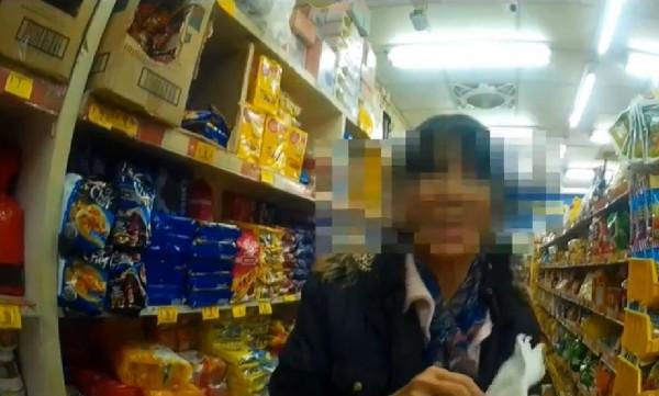 謝姓女子因案通緝被警方查獲。(警方提供)