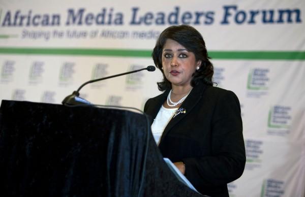 非洲地區唯一女性元首,模里西斯總統古里布·法基姆(Ameenah Gurib-Fakim),近日因陷入財務醜聞而下台。 (法新社)