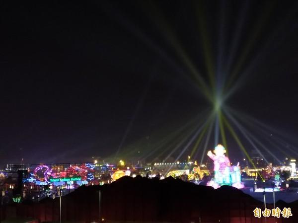 嘉義縣政府主辦2018台灣燈會,3月11日將結束為期24天的展期。(資料照,記者曾迺強攝)