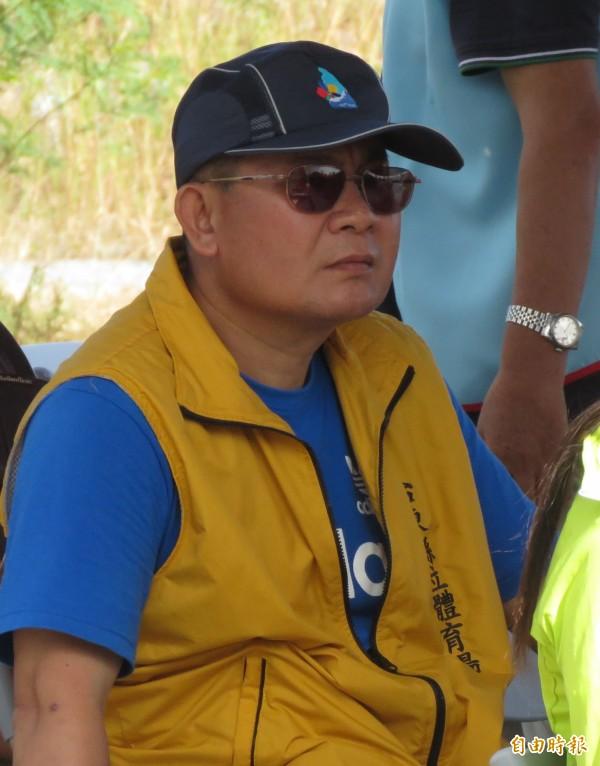 柳旭龍已被停止校長職務,目前為調用人員。(記者王秀亭攝)