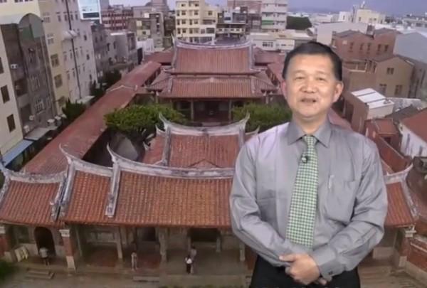 許明輝全力爭取國民黨鹿港鎮長提名。(取自許明輝臉書)