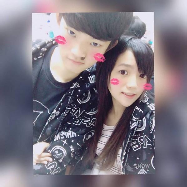 遇害港女潘曉穎(右)與涉嫌行凶的男友陳同佳合照。(翻攝臉書)