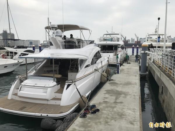 台灣國際遊艇展將登場,立委賴瑞隆呼籲政府挹注經費發展遊艇產業。(記者洪臣宏攝)