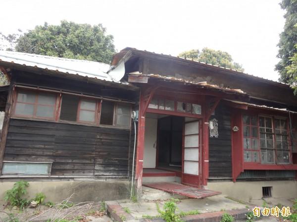 新竹市登錄為歷史建築的南大路警察宿舍已獲補助,將投入4572萬元進行修復工程,修復後將委外活化利用,成為後站及老樹舍計劃重要的藝文新據點。(記者洪美秀攝)