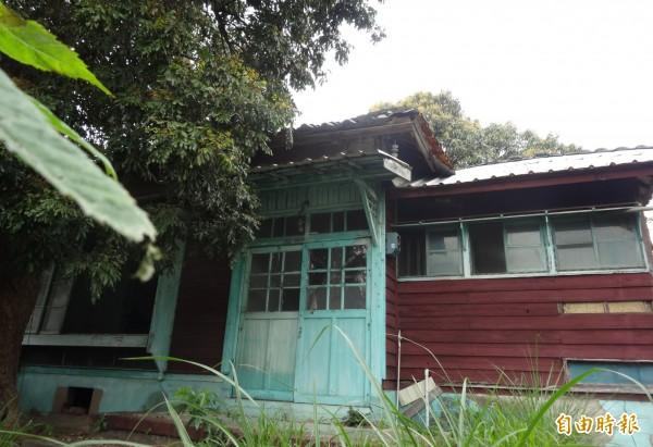 新竹市登錄為歷史建築的南大路警察宿舍,將投入4572萬元進行修復工程,修復後將委外活化利用。(記者洪美秀攝)