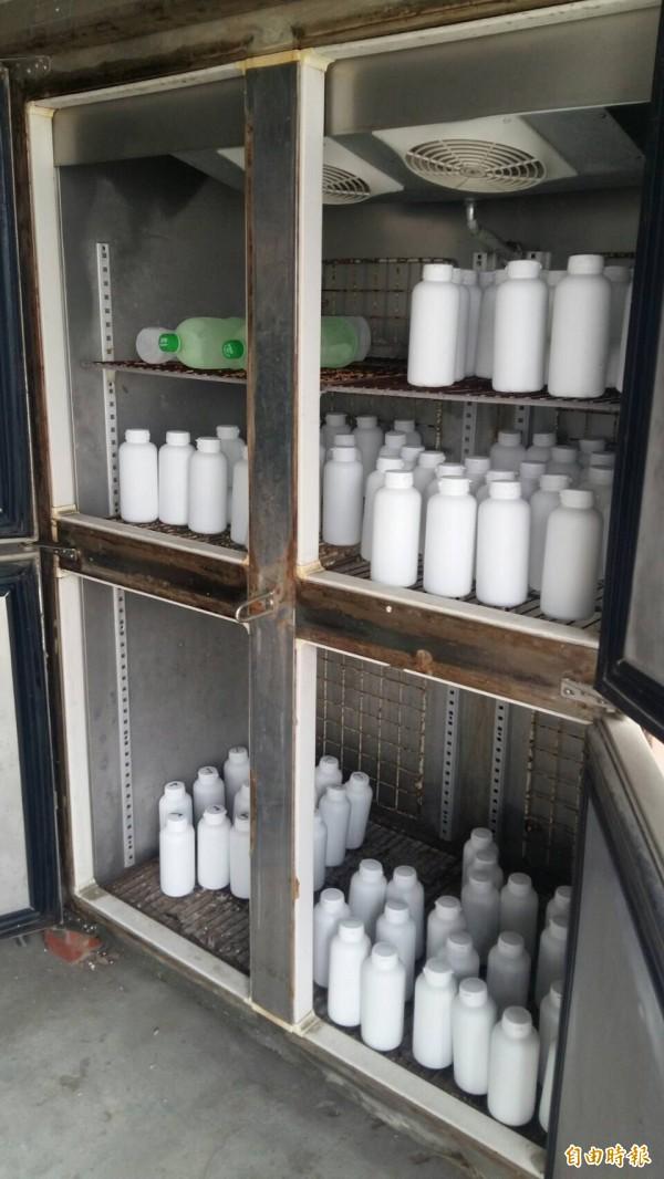 非法製造的禽流感血清疫苗(調查站提供)