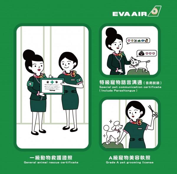 長榮航空推出寵物機,結果是愚人節玩笑。(圖擷取自臉書)