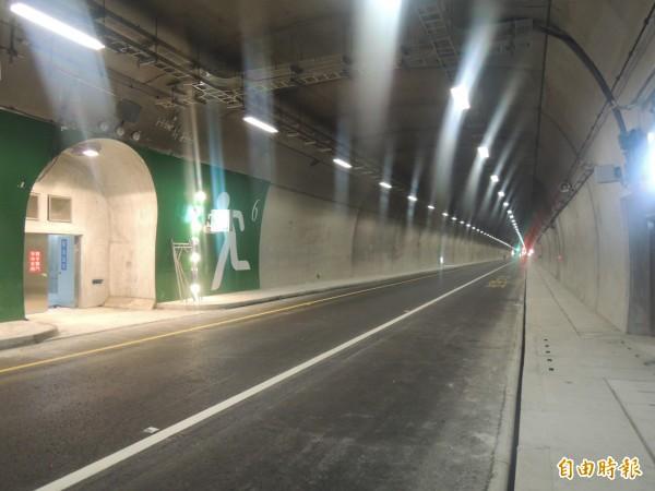 蘇花改東澳隧道。(資料照,記者江志雄攝)