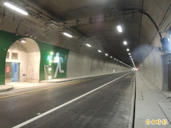 蘇花改蘇澳到東澳段的東澳隧道。(資料照,記者江志雄攝)