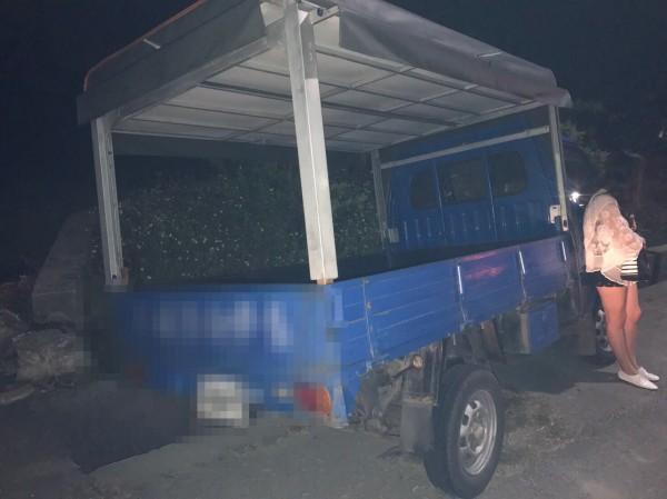 「農業首都」特有?女子開貨車去KTV上班酒駕被逮,2次都開同一輛貨車,連員警都搖頭。(記者廖淑玲翻攝)