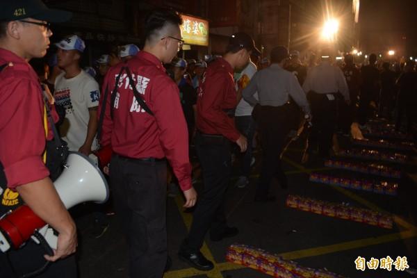 彰化縣消防局對違反禁炮令開出舉發單的違規案件,強調依法處理、絕不手軟。(記者張聰秋攝)