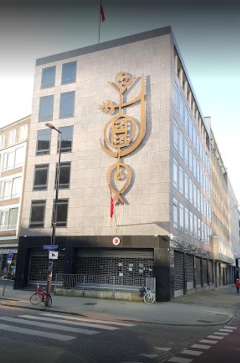 荷蘭檢察官表示,逮捕四名涉嫌計劃攻擊土耳其駐鹿特丹(Rotterdam)領事館的男子。(圖片取自Google Map,在地嚮導Twan IJpelaar提供)