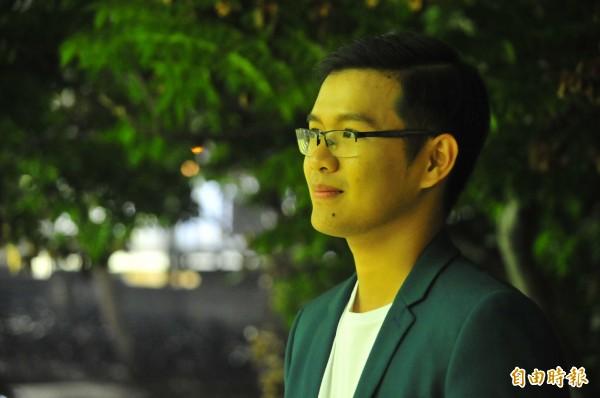 主辦人之一是就讀成大管理學院的曾偉泰,他說,越南週是在台越籍人士交流感情的地方,也是發覺生活的問題的地方,他希望能為越國人努力。(記者王捷攝)