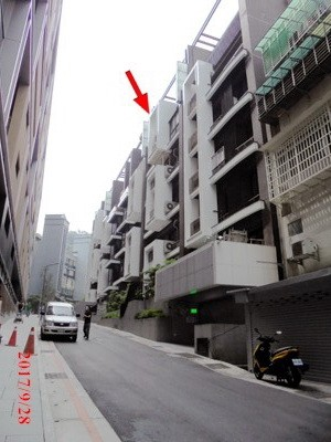 台北地院今執行首拍「信義101」,因無人投標、導致流標(翻攝司法院網站)