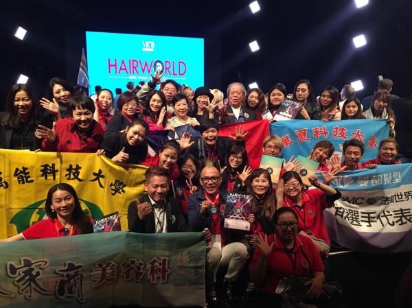 台灣選手參加OMC世界盃比賽表現優。(OMC台灣總會供)