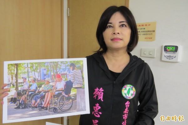 台南市民進黨議員賴惠員說,他們是表達台南人在地的心聲,希望推出賴院長代表民進黨參選台北市長。(資料照,記者蔡文居攝)