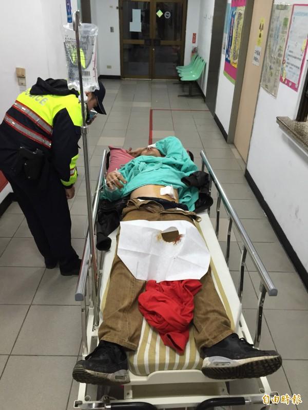 陳姓老闆遭謝男砍傷送醫救治。(資料照,記者吳昇儒攝)