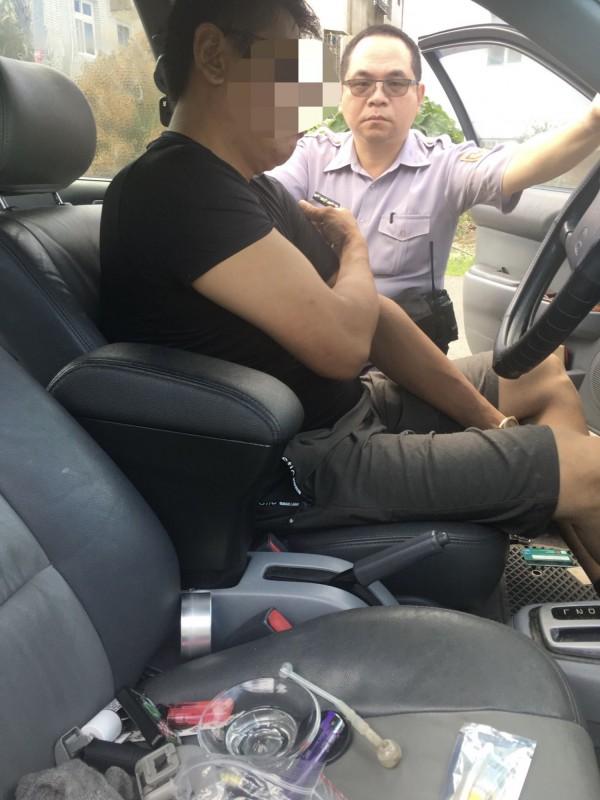 竊賊從新竹偷到苗栗,沿途不斷換車牌,最後還是栽了被警方查獲。(記者蔡政珉翻攝)
