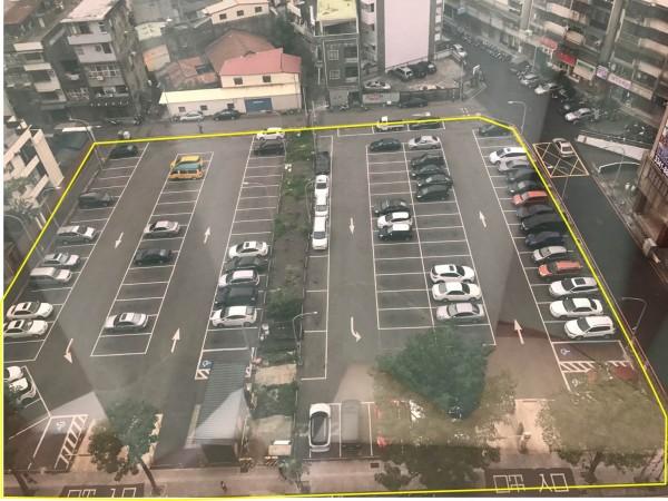 東門停車場鳥瞰圖。(桃園市府提供)