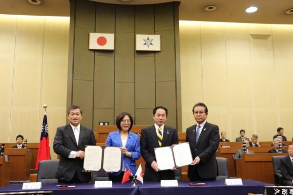 高市議會成為和歌山議會第一個姊妹議會(高市議會提供)