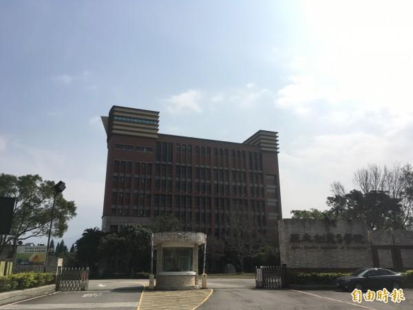 亞太創意技術學院將於七月底停辦,董事會發聲明稱決定停辦是「萬般無奈」。(記者鄭名翔攝)