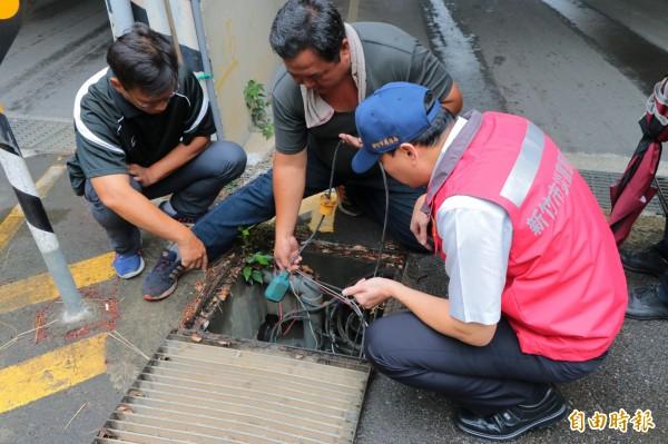 首波梅雨鋒面來襲,新竹市啟動防災整備。(記者蔡彰盛攝)