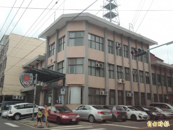 針對閒置的湖口分駐所舊址,新竹縣政府財政處表示,將出租或是變更地目利用。(記者廖雪茹攝)