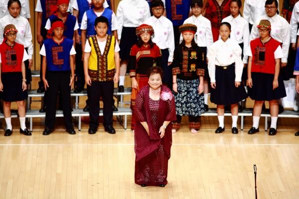 黃美鈴奉獻音樂教育40多年。(記者陳彥廷翻攝)