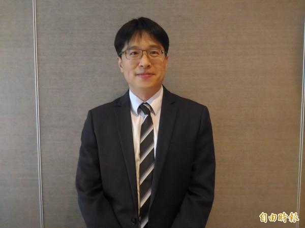 中國信託投信基金經理人劉哲維。(記者李靚慧攝)