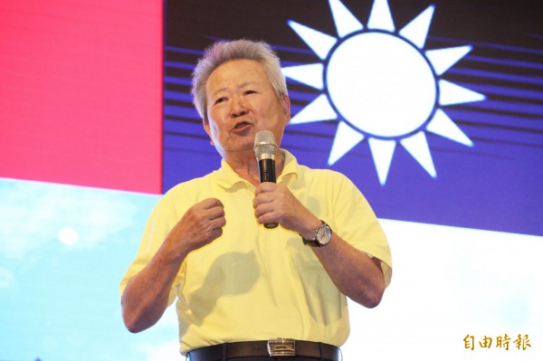 國民黨桃園市黨部主委楊敏盛強調,兩岸和解最大的障礙就是當今的執政黨。(記者李容萍攝)