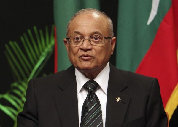 馬爾地夫前總統蓋約姆13日遭判刑19個月。(美聯社檔案照)
