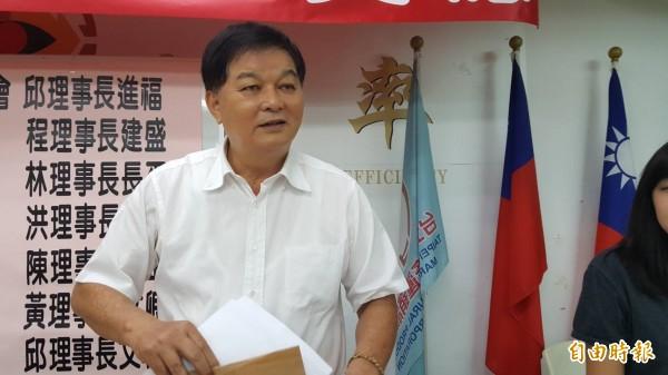 台灣省青果運銷合作社理事主席陳益宗。(記者楊心慧攝)
