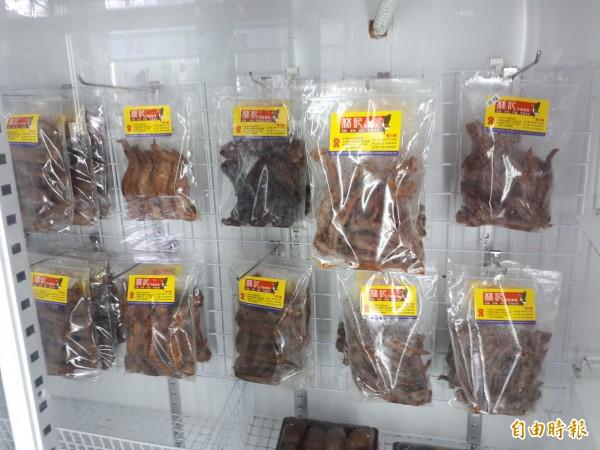 新竹市林記滷味的各式滷味都講求衛生乾淨,且以漂亮的盒子包裝,不僅好吃還可當伴手禮,是會讓人吮指留香的滷味。(記者洪美秀攝)