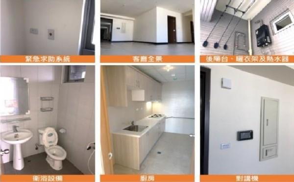 林欽榮表示,已經蓋好的士林北投科技園區專案住宅可提供36戶、252床,將看文化大學有多少需求。(都發局提供)