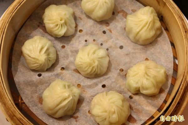 各類湯包料理是尚豪麵點拿手菜。(記者林宜樟攝)