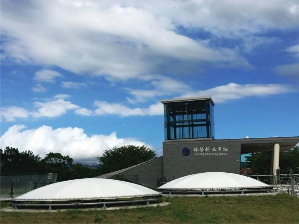 東部幹線林榮新光站將於7/10日啟用,初期每日停靠8班列車。(圖:台鐵局提供)