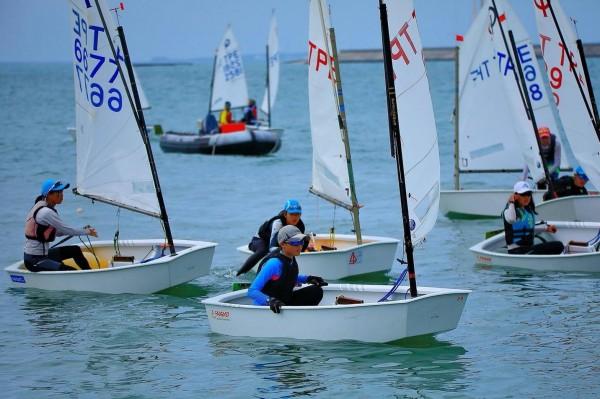 睽違十年後,台灣盃帆船錦標賽再度在澎湖舉行。(澎湖縣帆船協會提供)