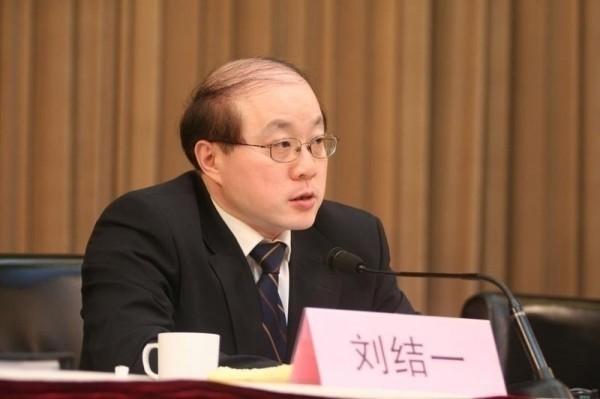 美國兩艘軍艦經過台灣海峽,中國國台辦主任劉結一上午表示,大陸方面堅決反對任何危害中國國家利益的事情。他也批評美國近期一直在打「台灣牌」,並指美國這種做法傷害台灣同胞的利益、傷害全體中國人民的利益,當然也應該受到兩岸同胞的共同反對。(資料照,中央社)