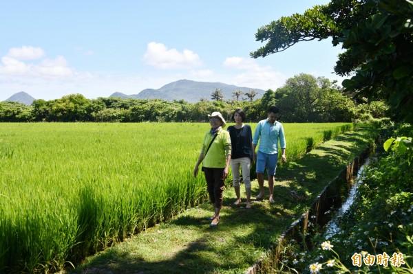 在墾丁,社區生態旅遊崛起。(記者蔡宗憲攝)