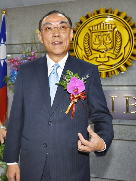 法務部長由調查局長蔡清祥升任。(資料照)