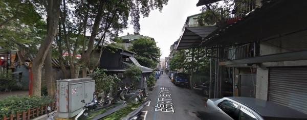 周男在臨沂街住家上吊自殺。(取自google街景)