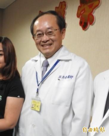 高榮副院長、乳癌外科名醫張宏泰接任高雄市立聯合醫院院長。(記者方志賢攝)