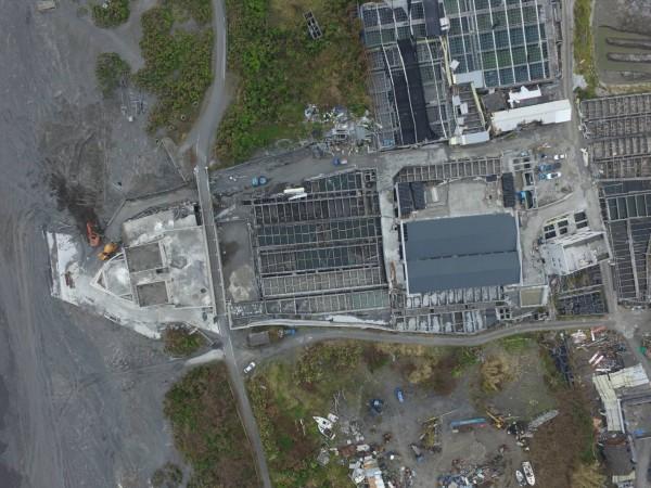 宜蘭縣「農舍地圖」,壯圍竟然有艘「船」,縣府空拍圖相當明顯。(宜蘭縣政府提供)