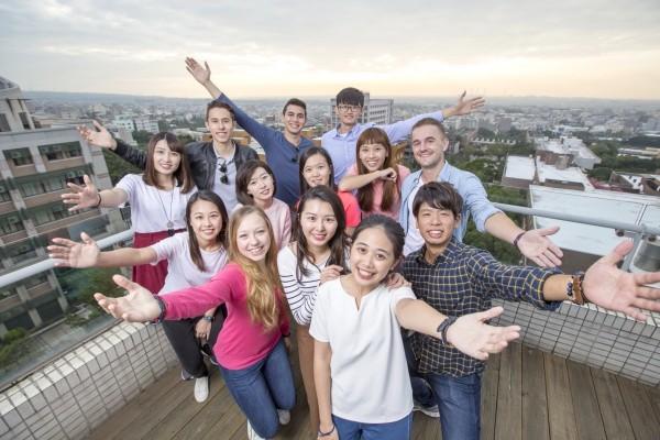 靜宜大學勇奪教育部「學海計畫」補助全國第一,校方用心打造國際化的學習環境。(靜宜大學提供)