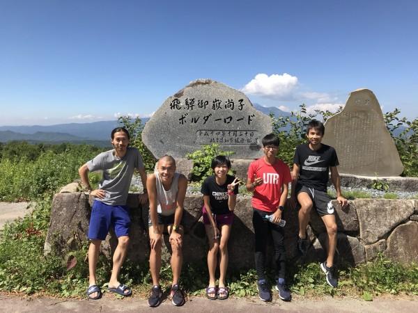 御嶽訓練中心位於高原溫度涼爽,不受日本近期高溫的影響。(張嘉哲提供)