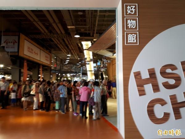 新竹市政府強調,「新竹300博覽會」活動,已讓關閉2年的新竹文創館活化且帶來新契機,未來市府還會將台灣館轉型為「兒童探索館」,是負責地解決前朝留下的問題。(記者洪美秀攝)