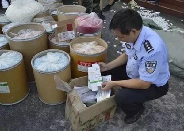 江西警方追查半年,近日破獲一宗跨省假藥案。(取自微博)