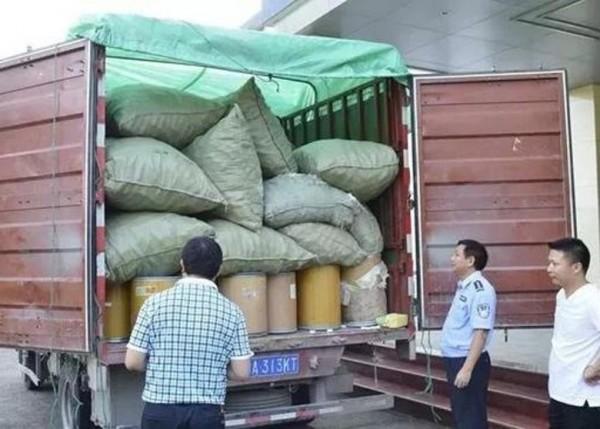 假藥成品、半成品、原料等總重6公噸。(取自微博)