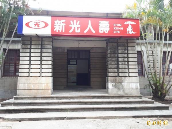 閒置34年的新竹市市定古蹟「新竹州圖書館」獲5257萬元進行修復工程,也即將啟動。(記者洪美秀攝)